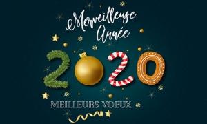 carte meilleurs voeux 2020 meilleurs voeux 2020
